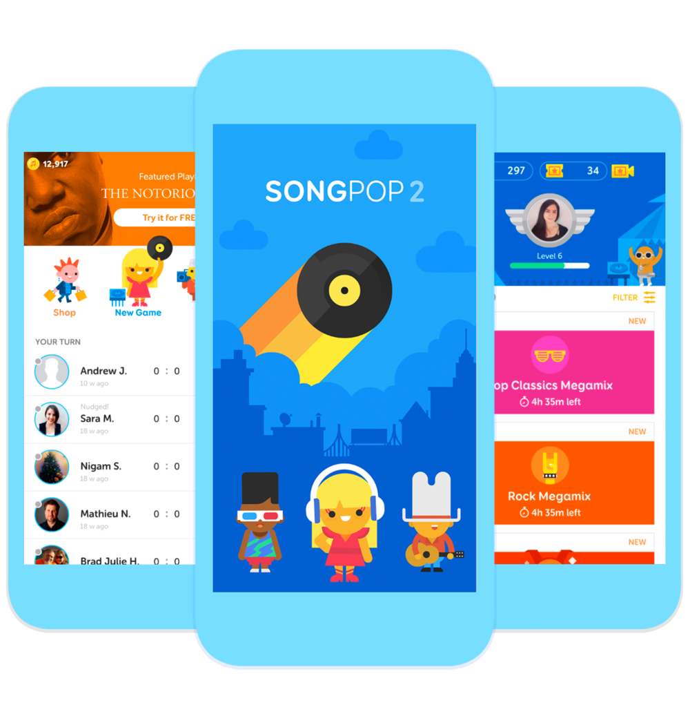 SongPop 2 - The world's biggest music trivia game.Now even better.