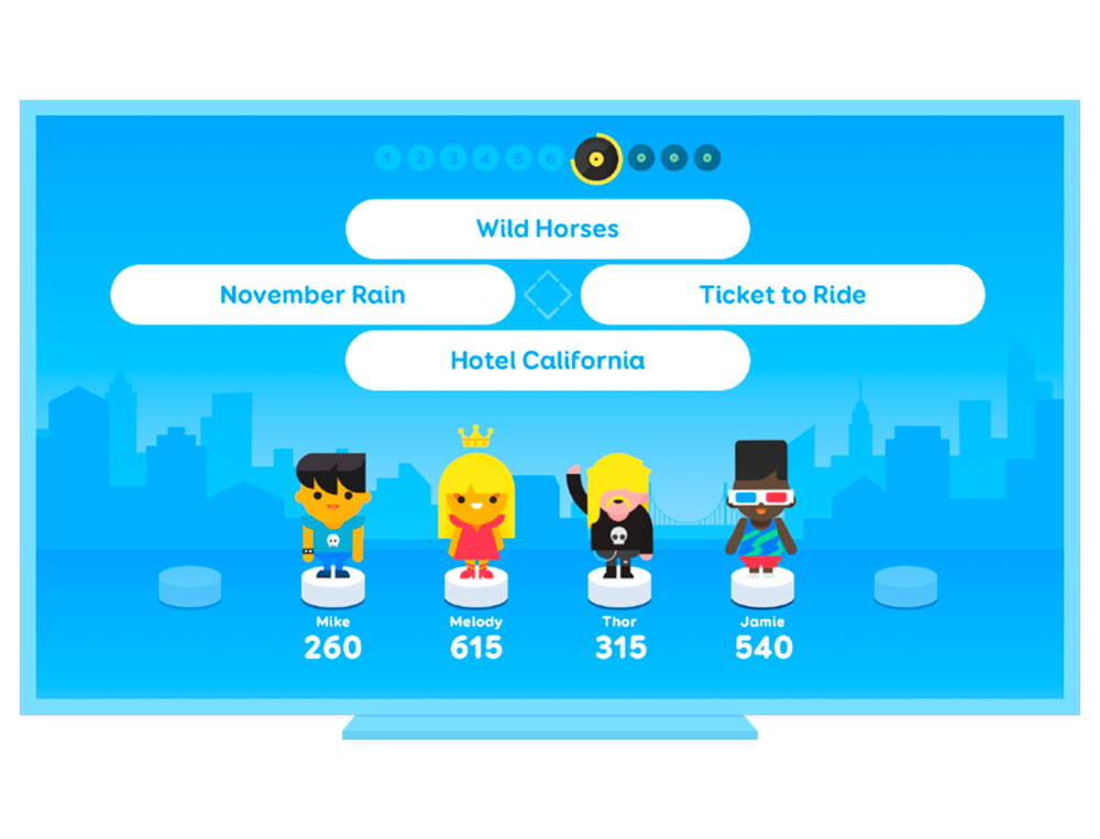 SongPop Party - The biggest music quiz in the world, now for your living room!
