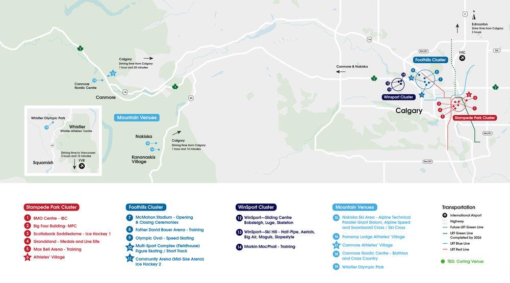Proposed Venus - Olympics - City & Mountains