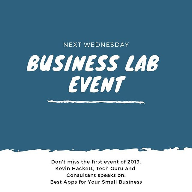 Best #apps for your #business? Join us next Wednesday to hear from #Tech Guru, Kevin Hackett. See link in bio for tickets. #businesslabftl #fortlauderdale #miami #fortlauderdaleprofessionals #businessgrowth #success #networking #professionaldevelopment #technology