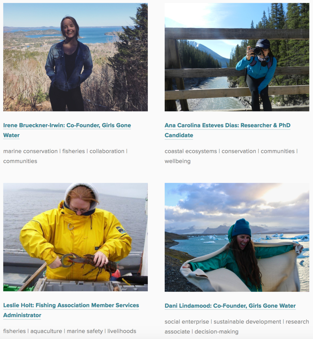 Women in Water Profiles - are stories collected to highlight a range of experiences from women involved in water around the world. These women represent diverse walks of life, including policy advisors, community mobilizers, academics, social justice warriors, lawyers, engineers, and more. New profiles are added every week, so there's always something new to explore!