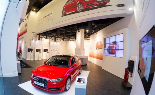 Audi E-Tron Pop-up-shop