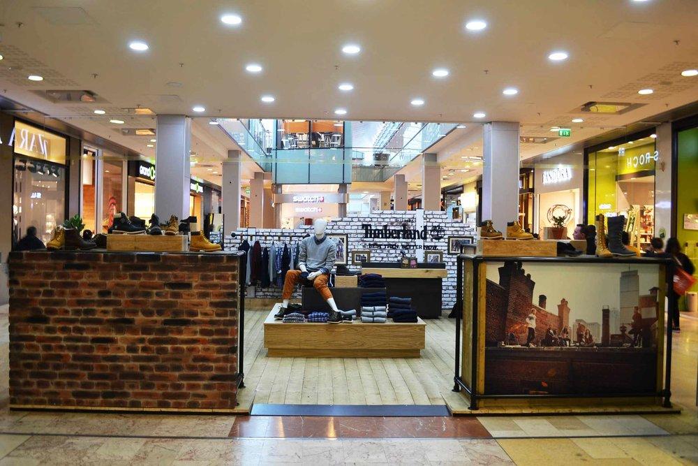 Timberland Pop-up stores