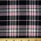 Pink and Black Tartan