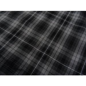 Romulus Grey Tartan Fabric