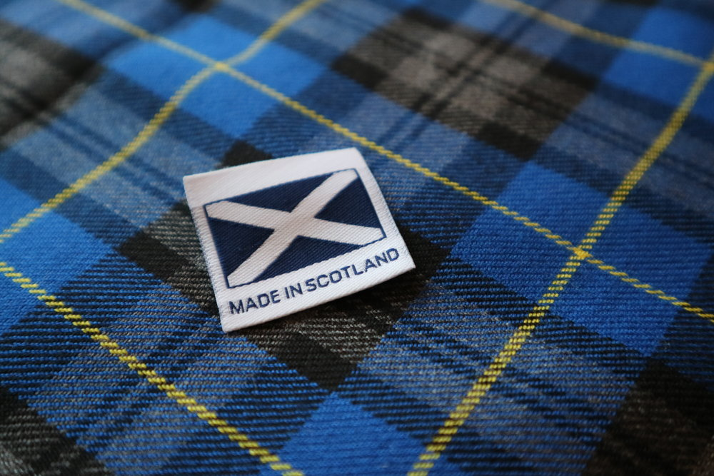 Mucki Mutz Made in Scotland Label