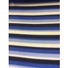 Blue, Black and White Stripe Fleece