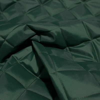 Dark Green Quilted Waterproof