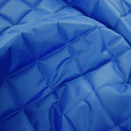 Blue Quilted Waterproof