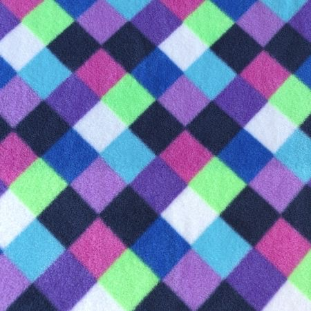 Diamond Purple Fleece