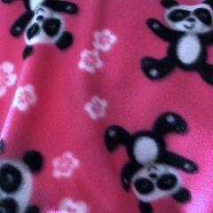 Pink Panda Fleece