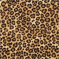 Tan Leopard Fleece