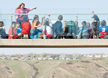 Cross-Curricular - Learn about the history and science behind the Lethbridge Viaduct (High Level Bridge).