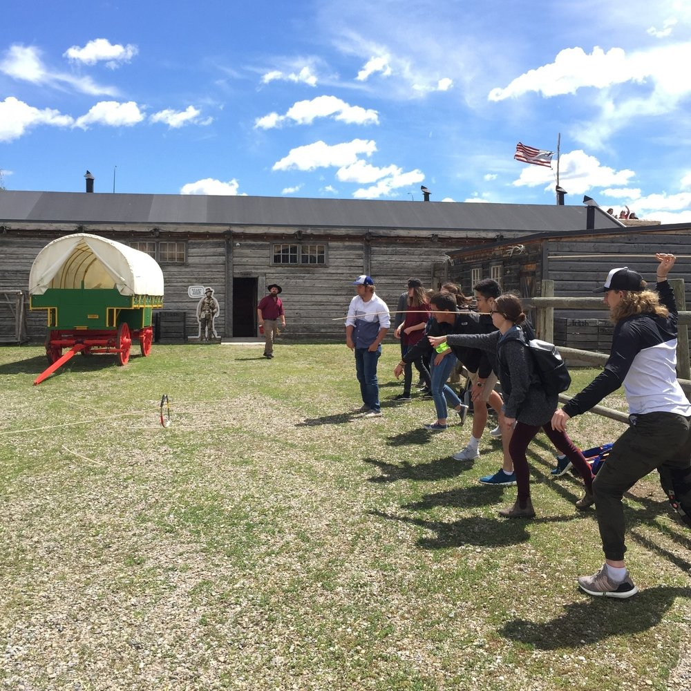 Games - Try your hand at some traditional Blackfoot games.