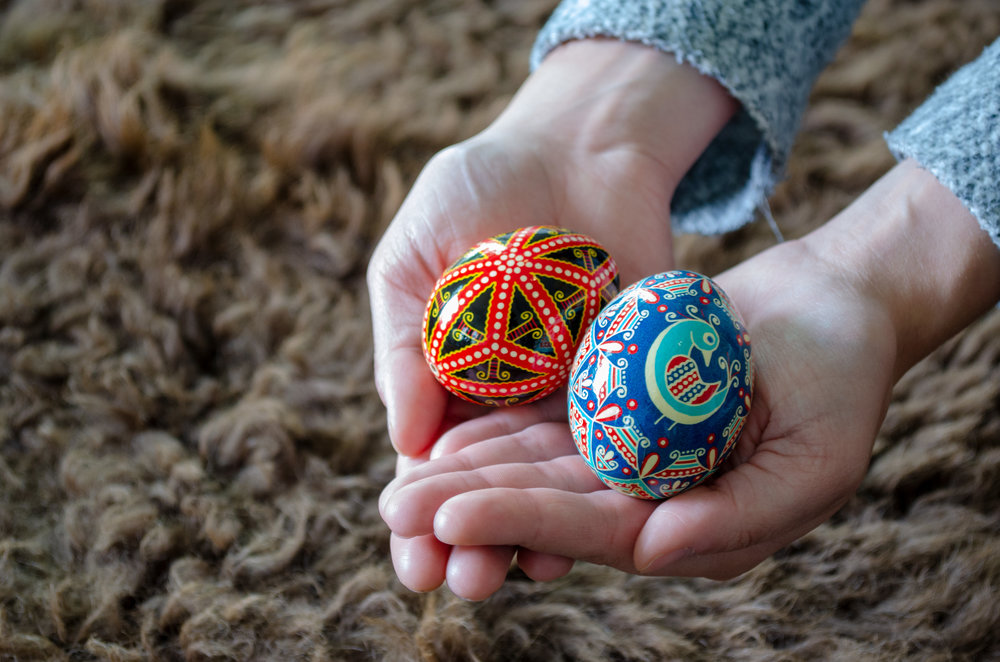 Pysanky - Learn about some of the important holidays celebrated by Ukrainian Canadians in our community.