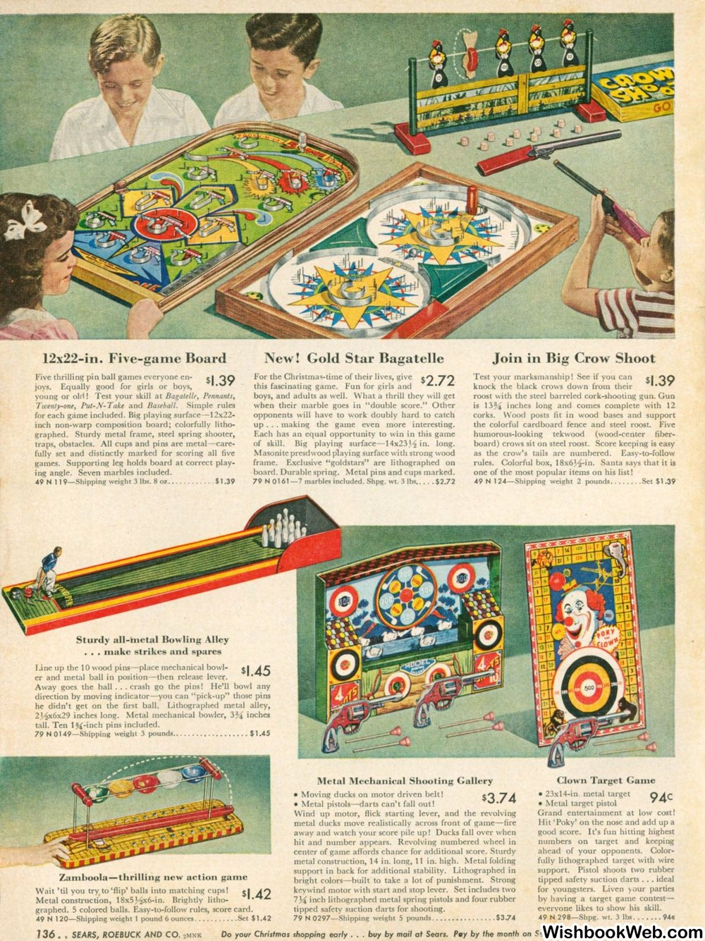 Sears Christmas Book 1948, Pg. 140