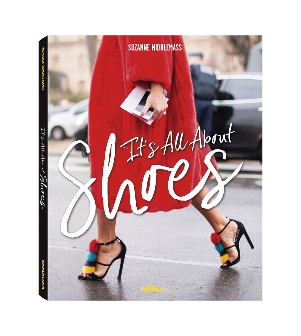Its All About Shoes by Suzanne Middlemass