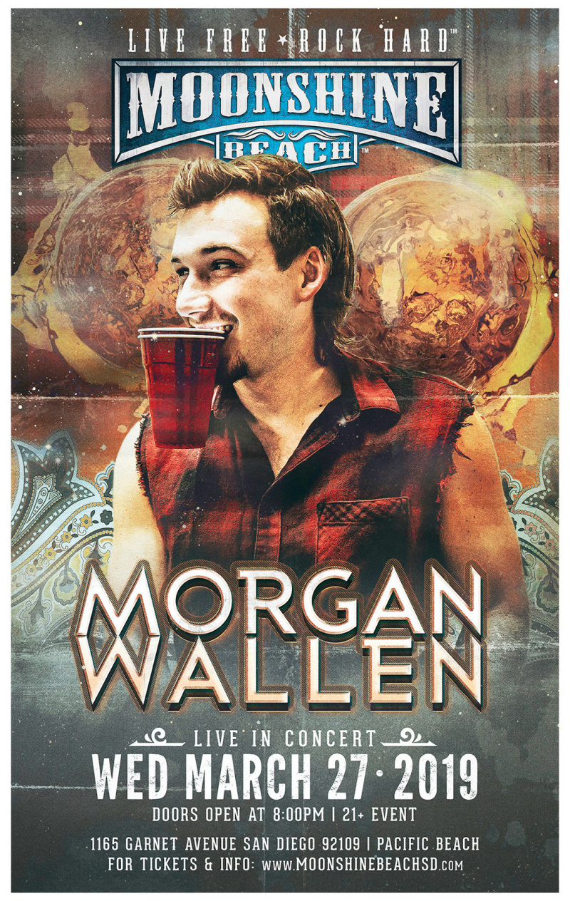 Morgan Wallen is BACK in San Diego and LIVE at Moonshine