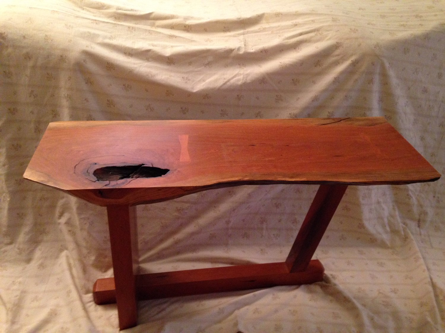 Cherry Wood End Table Unusual Furniture Creations