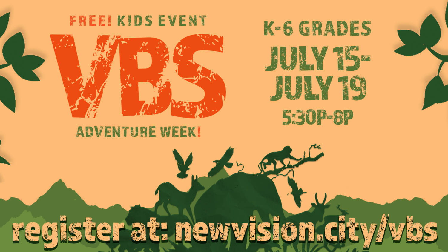 VBS 2019 — New Vision Church | Jesus  People  City