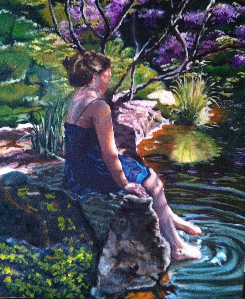 Painting women art Malvern PA