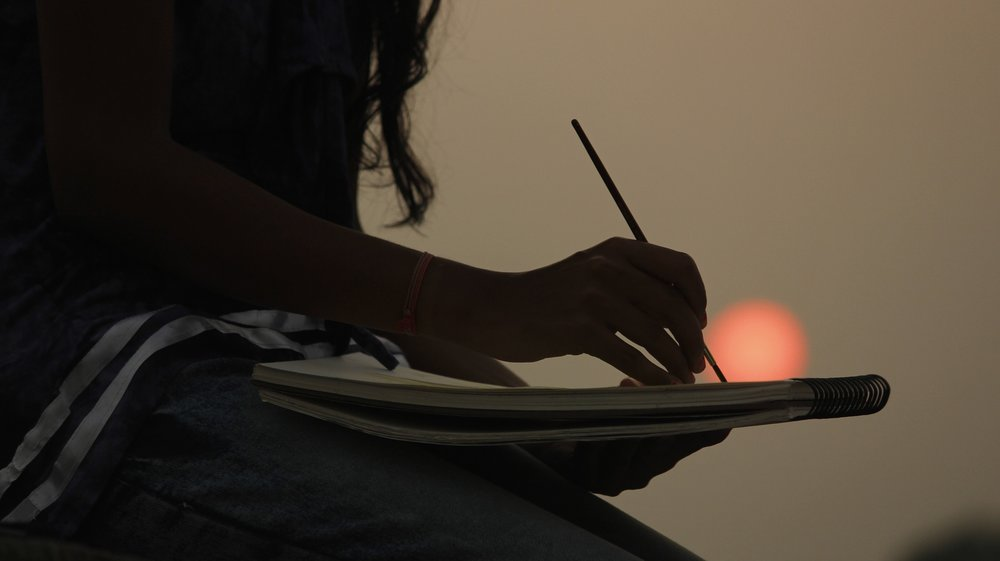 artist painting art therapy malvern pa