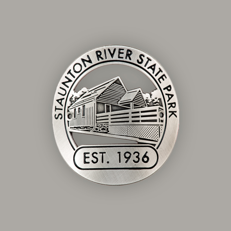 3M Adhesive Backing  - Die Struck Process  - Silver Plated