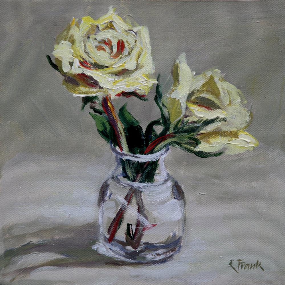 Rose Study (Yellow)