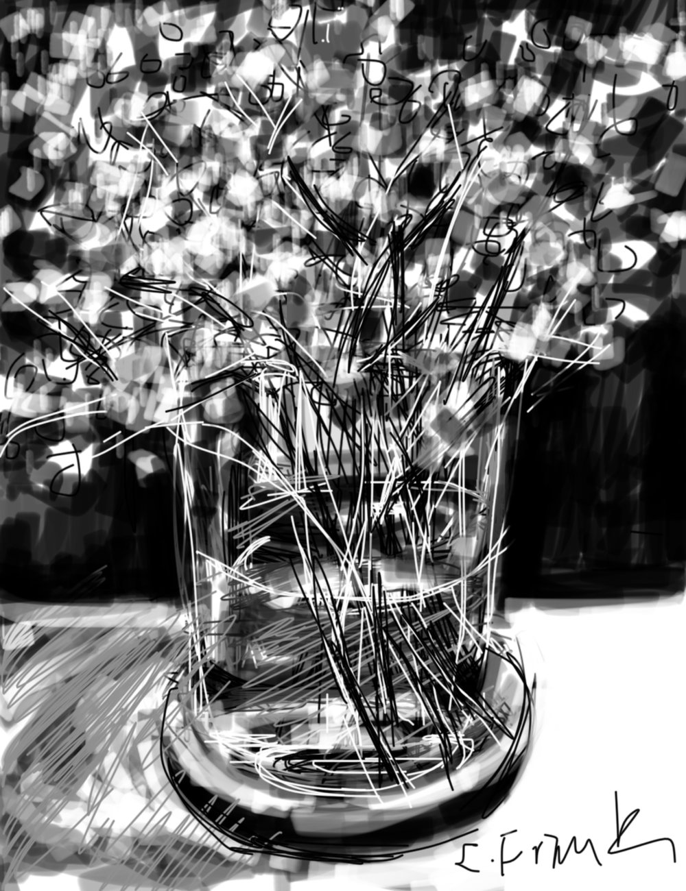 Baby's Breath in Vase