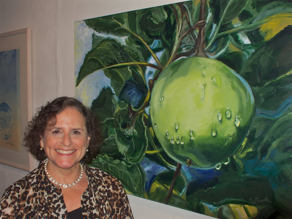 September 2013 - Leona is one of five members of New Haven Paint & Clay Club to be recognized with an Award of Merit.