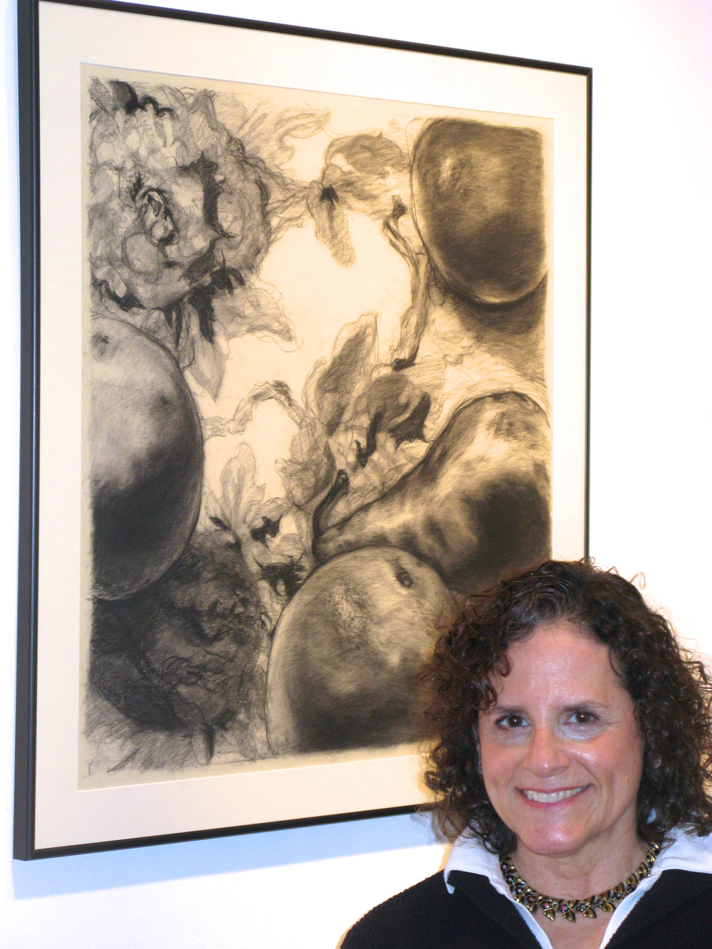 April 2009 - Leona's drawing is selected for the New Haven Paint and Clay Annual Open Exhibition at John Slade Ely House in New Haven, CT.
