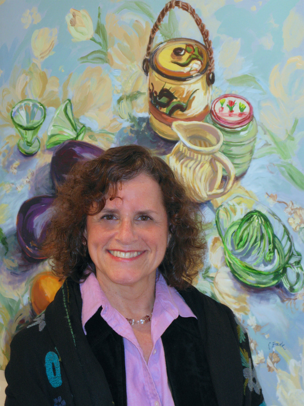 May 2008 - Two of Leona's paintings are accepted into the Annual Connecticut Women Artists Exhibition in New Haven, CT.