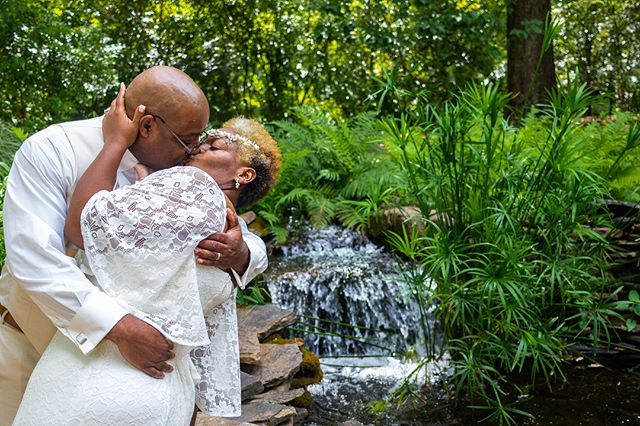 Congratulations to the most animated couple I've had a pleasure to shoot with, Mr. + Mrs. Coleman!  Blessed with the opportunity to shoot my first photo wedding gig, as I usually do videos.  Available for shoots, DM/Email/Visit Website for booking and contact info.  Full album + blog post in bio.  #wedding #weddingphotographer #bhamphotographer #bhambotanical #alabamaweddingsmag #portraitbhm #alwedding #alweddings #2018wedding #alabamaphotographer #alabamaphotographers #bbgardens #weddingday #weddings #photography #photographer #aislesociety #BGRings #bridalguide #apracticalwedding #bespokebride #brides #caratsandcake #offbeatbride #thevenuereport #thelane