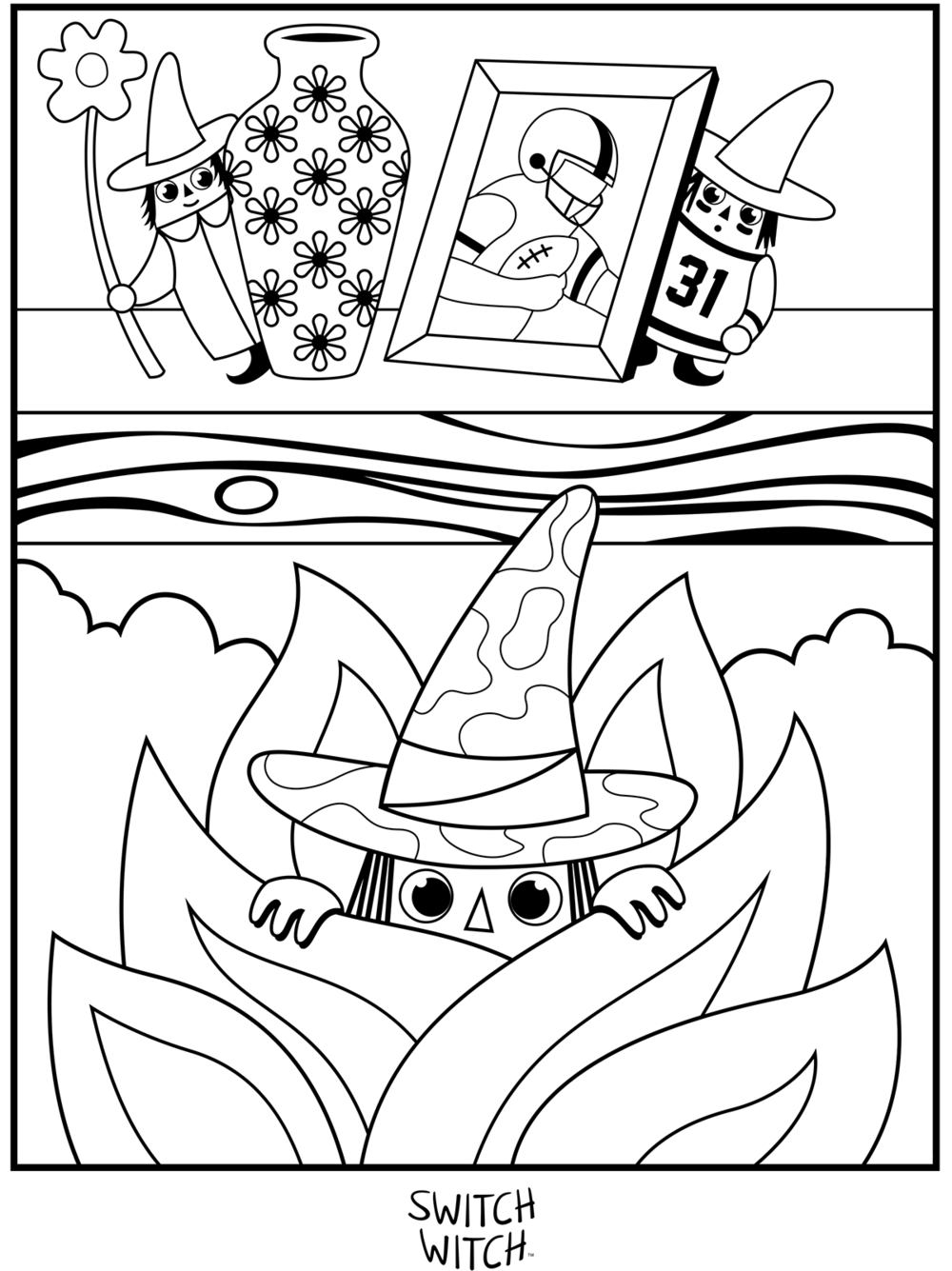 Coloring Pages — the original switch witch™