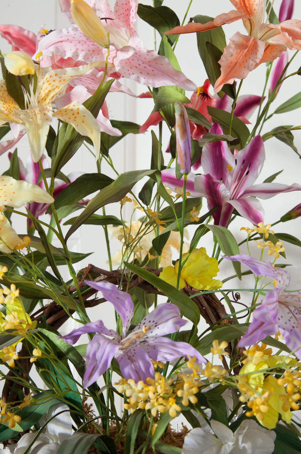 Silk Lilies