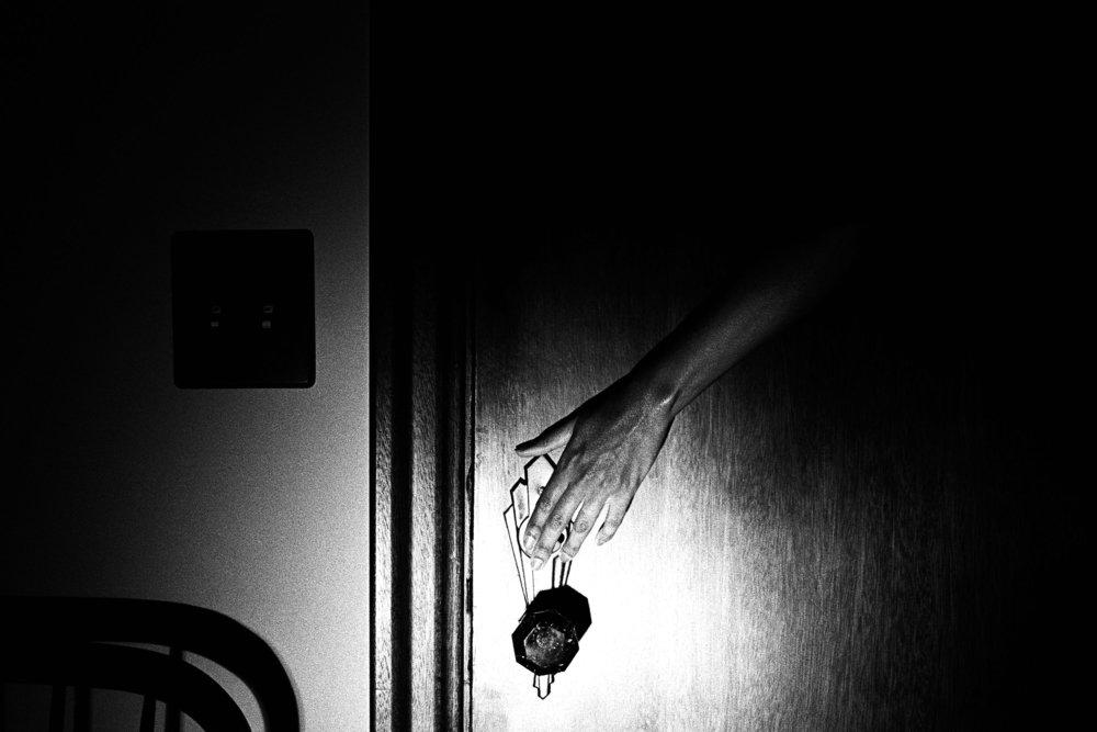 Door, hand