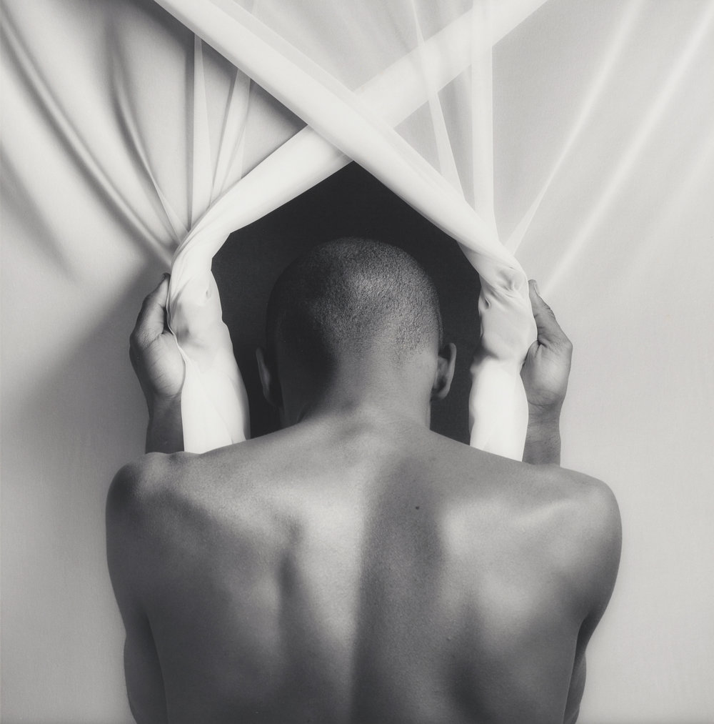 """Phillip Prioleau, 1982,"" Robert Mapplethorpe. / J. Paul Getty Trust and the Los Angeles County Museum of Art."