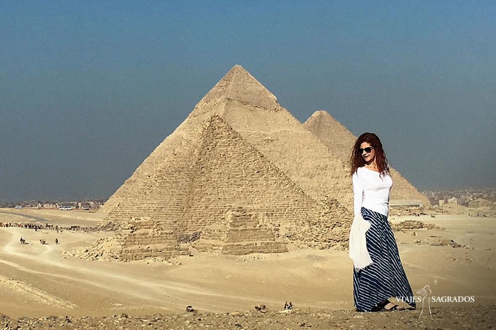 Ana Belén Domingo en Egipto