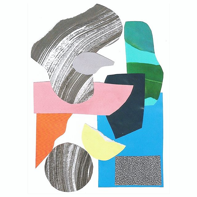 2nd and 3rd entry for @slowdownstudio #slowdownartcomp in colour and B&W produced as part of @pieprintstudio . . . . . #collage #printmaking #indianink #texture #design #textiledesign #balancing #spacebetween #printstudio