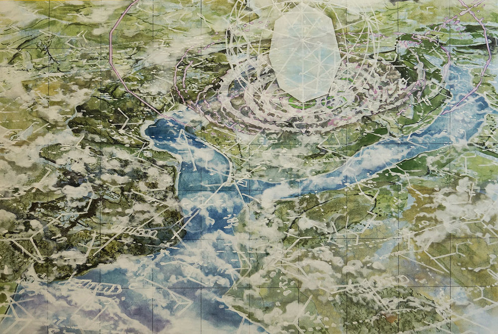 Oblique Cartographies – Signalling Through the Clouds