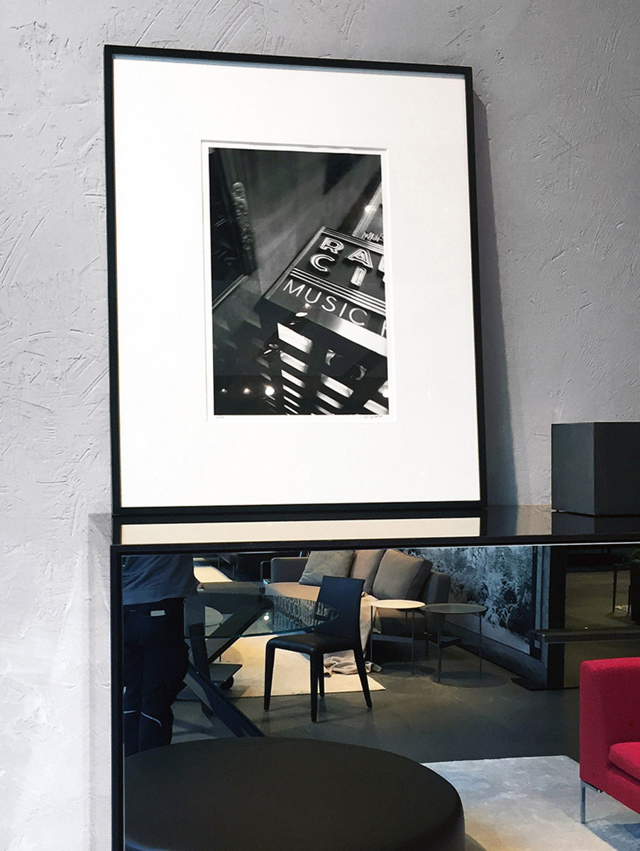 B&B Italia Store Munich, Modern Print 40x50 cm, Edition 24, Photo © Mary May