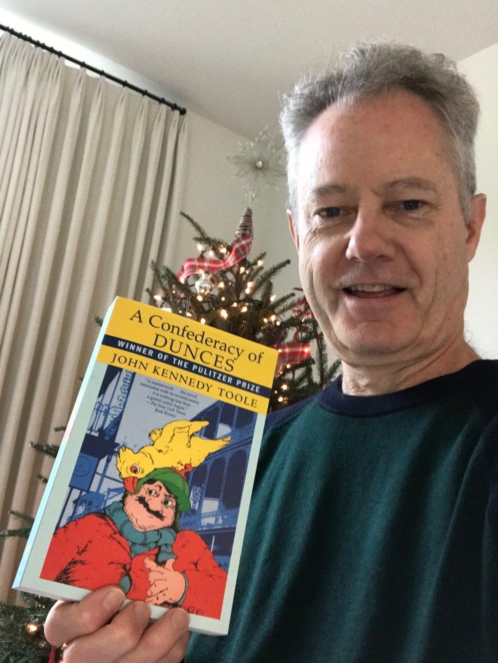 I put the novel on my Christmas list.