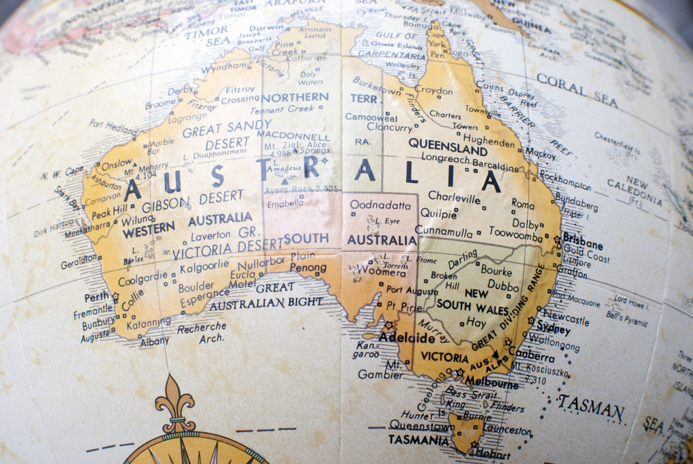 Brisbane is 900 kilometers north of Sydney, and Toowoomba is a 125 kilometers west of Brisbane.