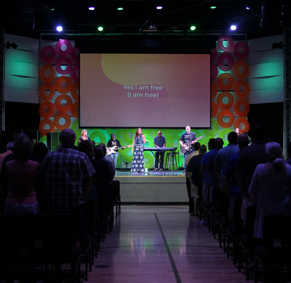 What's the worship like? - Services include a time of worship and teaching from one of our pastors. The worship music style is contemporary led by our praise team. The teachings from our pastors are Bible-based and Spirit-led.