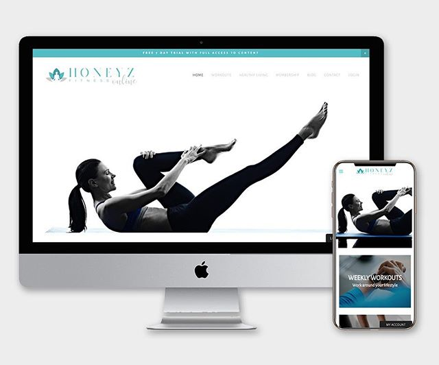 New site launch, Honeyz Fitness is an online fitness subscription with monthly payment plans. Why not sign up to the 7 day free trial and check out the workouts for yourself!  www.honeyzfitness.co.uk . . . #newwebsite #websitelaunch #digitalmarketing #squarespace #onlinefitness #onlinefitnesstraining #workout #workoutfromhome #pilates #yoga #websitedesign #websitedesigner #website