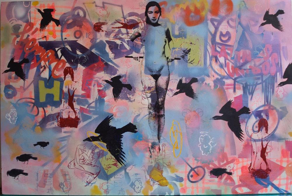 La Madone aux corbeaux