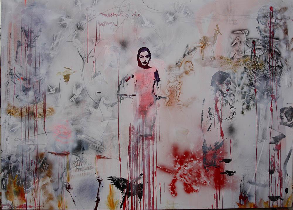 Exposition personnelle, Galerie Estace