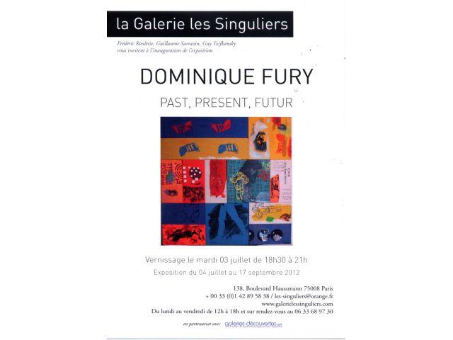 Past, present, futur, Galerie les Singuliers