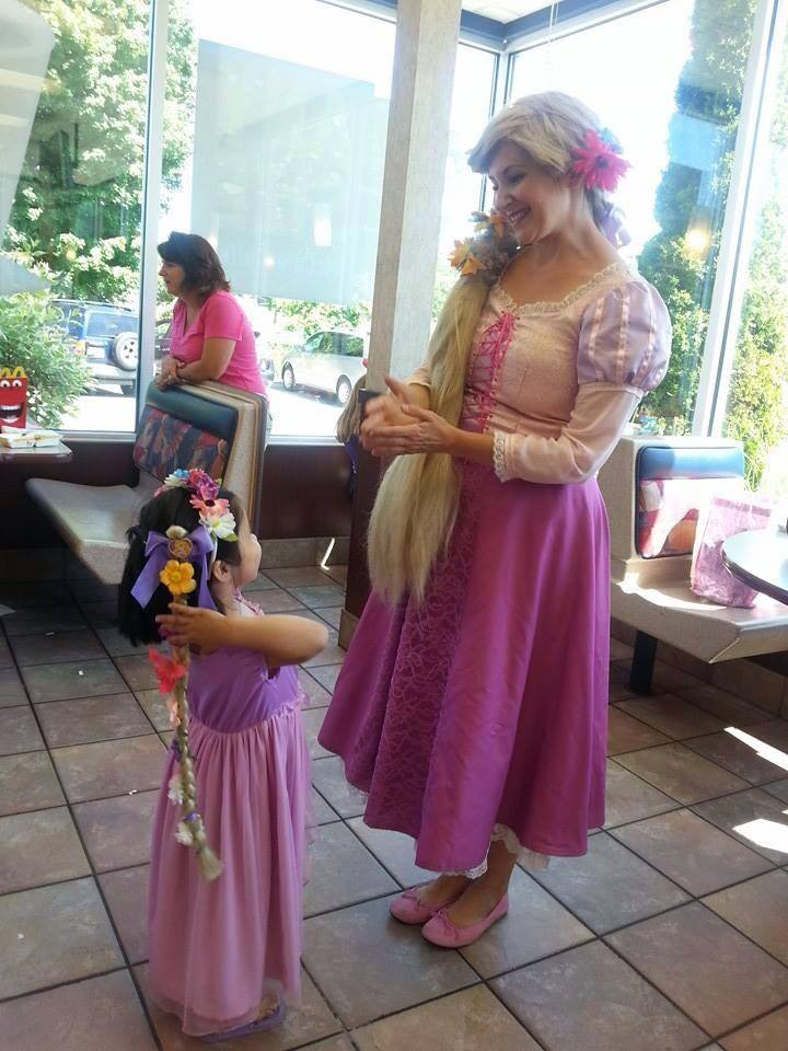 Princess visits from Kids Party Productions