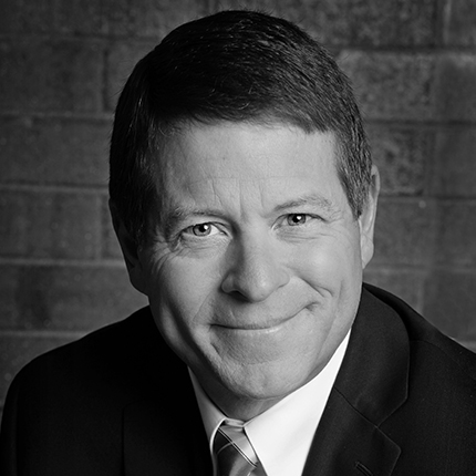 <h3>JOHN LAUCK</h3><h5>President & CEO</h5><i>Children's Miracle Network Hospitals</i>